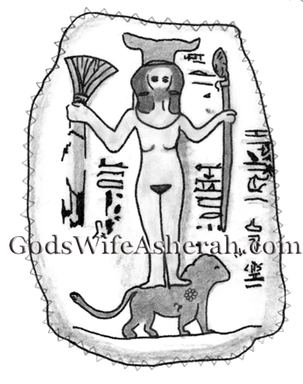 3a.7t Triple Goddess Asherah